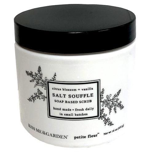 Petite Fleur Salt Scrub Souffle 16 oz