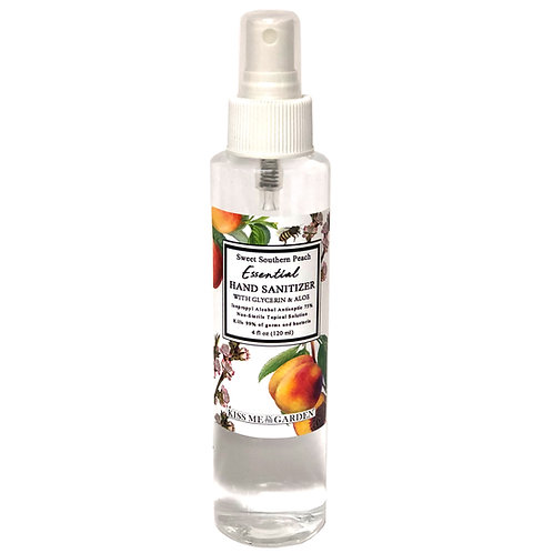 Hand Sanitizer SPRAY 4 oz -Peach