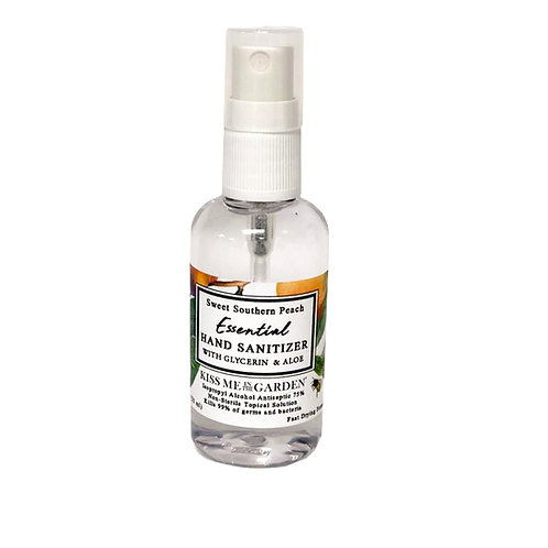 MINI Hand Sanitizer Spray - Peach