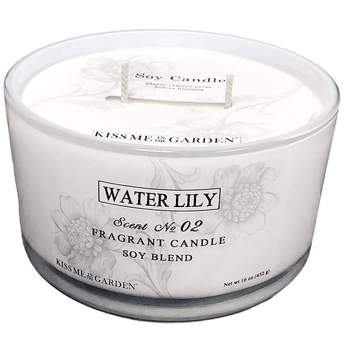 16 oz Water Lily Candle