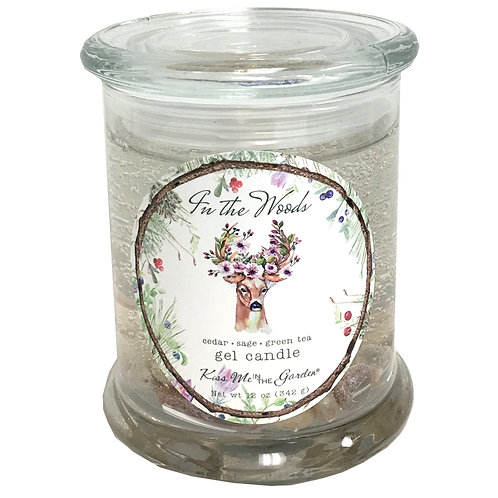 In The Woods Gel Candle 12 oz