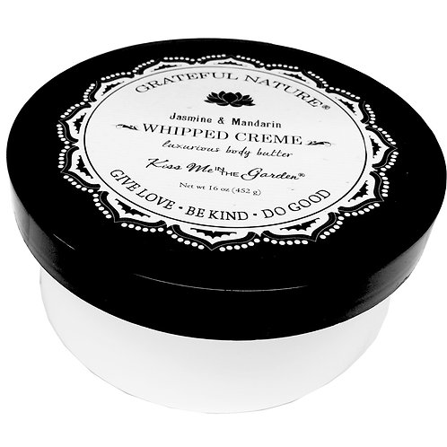 Grateful Nature Whipped Body Creme 16 oz