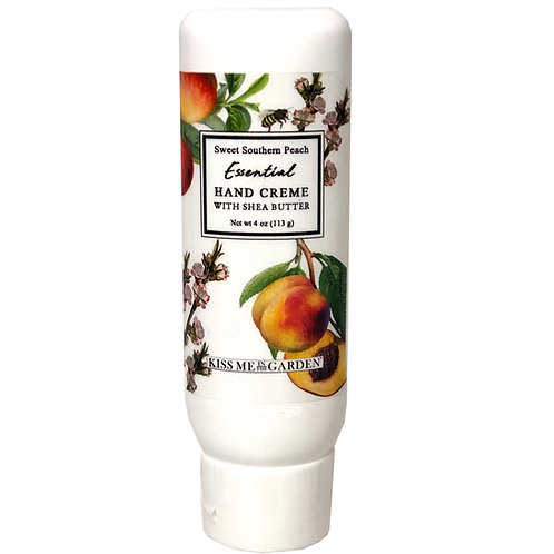 Peach Hand Creme tube 4 oz