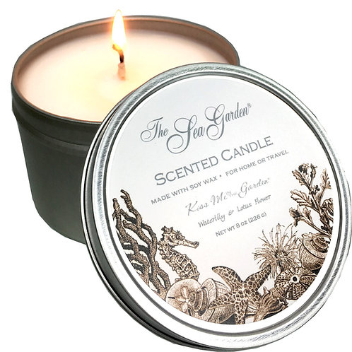 Sea Garden Travel Candle 8 oz