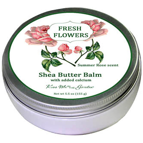 SHEA BUTTER BALM ROSE SCENT 5 oz