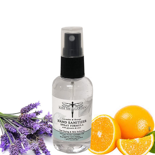 Mini Sanitizer Spray 1.69 oz  - Lavender Orange