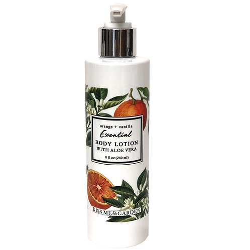 Orange Vanilla Body Lotion 8 oz