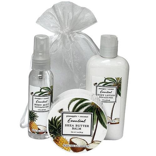 Pineapple Coconut 3 pc Gift Set