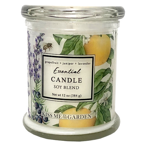 Grapefruit Soy Candle 12 oz
