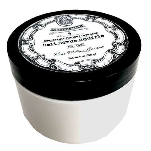 Custom Blend Salt Scrub Souffle 8 oz