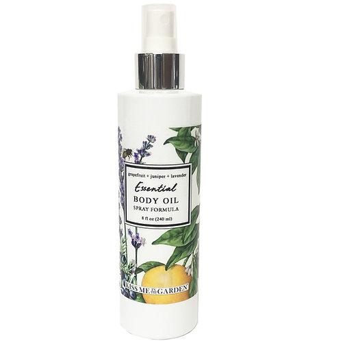 Grapefruit Body Oil Spray 8 oz