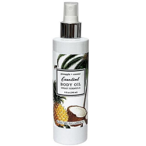 Pineapple Coconut 8 oz Body Oil Spray