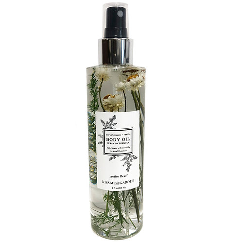 Body Oil Spray 8 oz