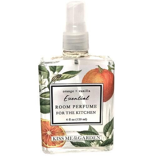 Orange Vanilla Room Perfume 4 oz (glass)