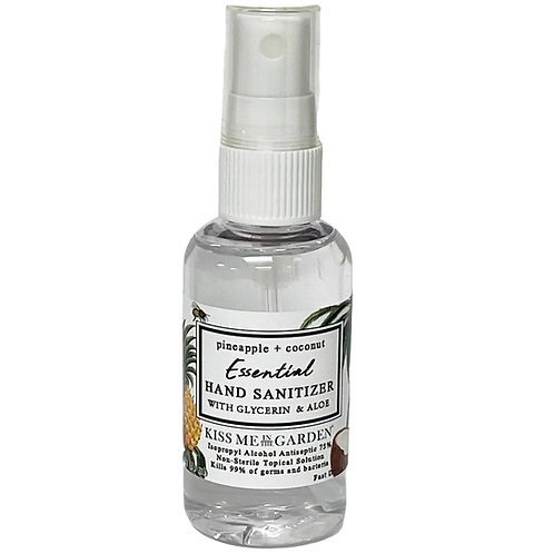 Pineapple Coconut 1.69 mini Hand Sanitizer