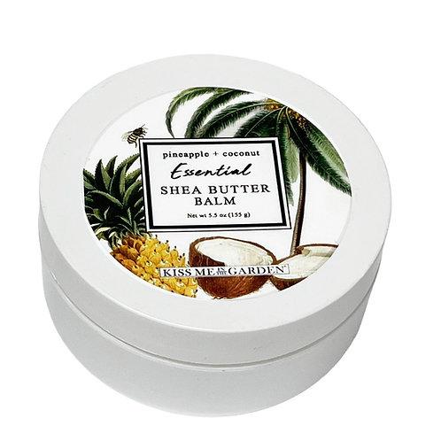 Pineapple Coconut 5 oz Shea Butter Balm