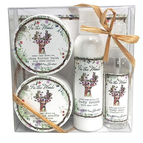 In The Wods 4 pc Gift Set