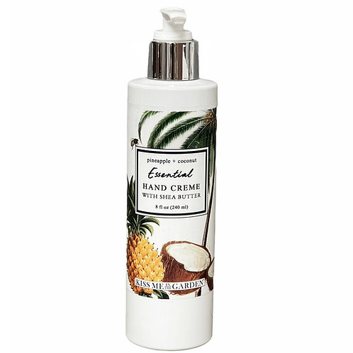 Pineapple Coconut 8 oz Hand Creme
