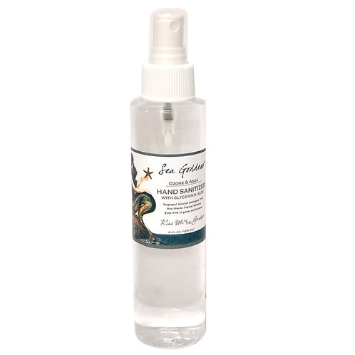 Hand Sanitizer Spray 4 oz - Sea Goddess