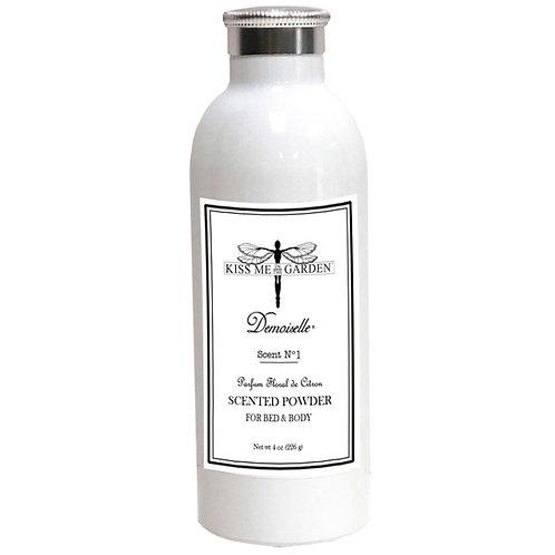 Demoiselle scented Powder 4 oz