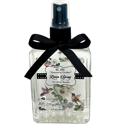 Heavenly Garden Linen Spray 4 oz (glass)