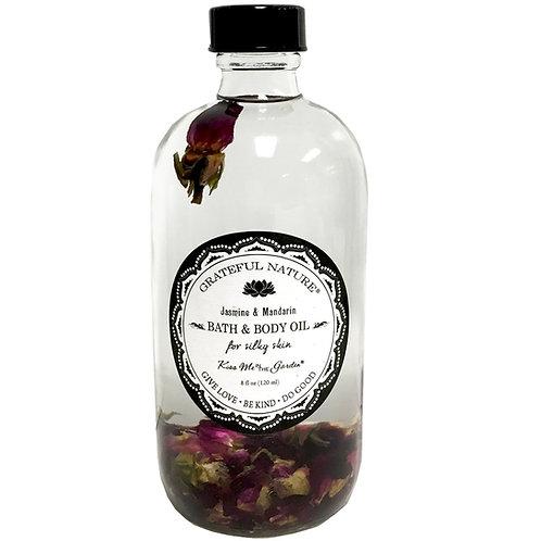 Bath Oil 8 oz (glass)
