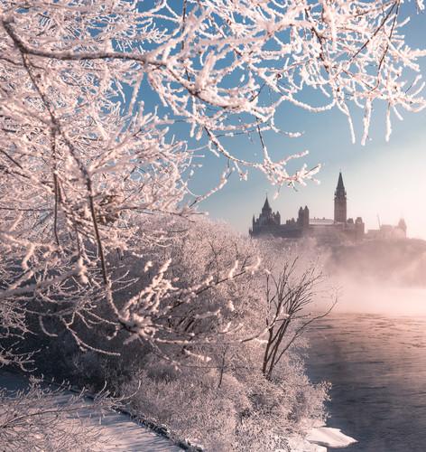 Ice Fog Engulfs the Castle