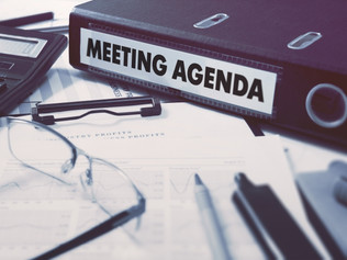 Three More Keys to Running a Good Meeting