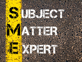 The Importance of Subject Matter Experts