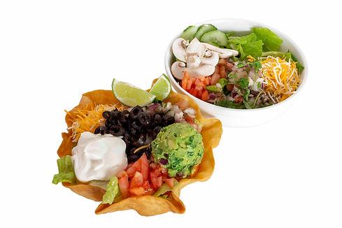 Mexipho Salad and Taco Salad