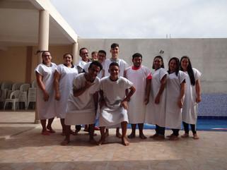 Batismo nas Águas em São Fernando RN.