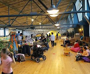 Indoor-Abenteuerspielplatz Bimano