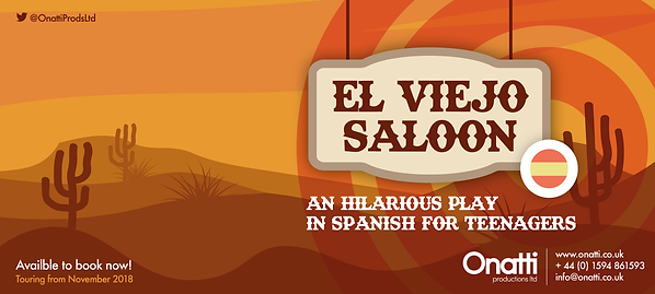 El Viejo Saloon -Play in Spanish for Teenagers