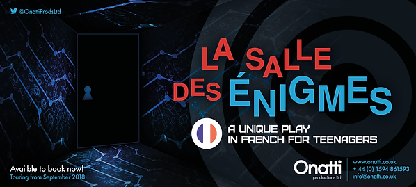 La salle des Énigmes - play in French for Teenagers