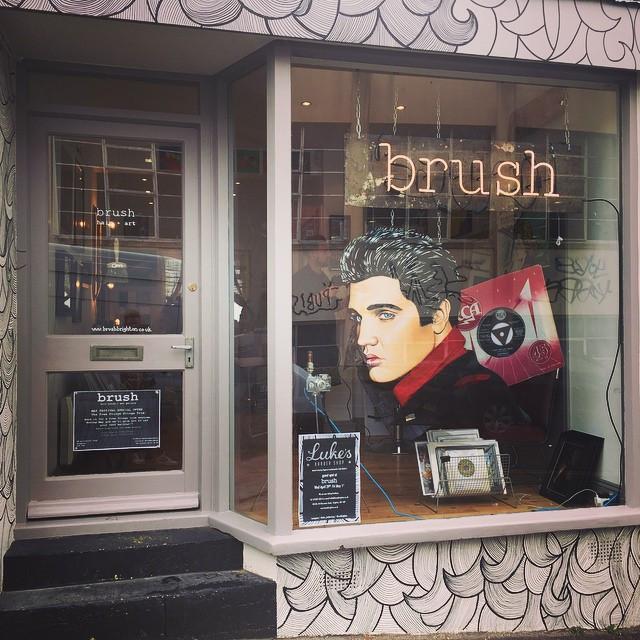 'brush' up.