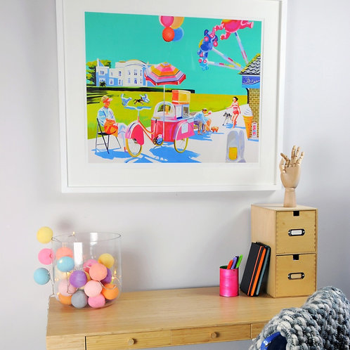 THERE'S NO PLACE LIKE IT - Signed Limited Edition Giclee Print (Unframed)