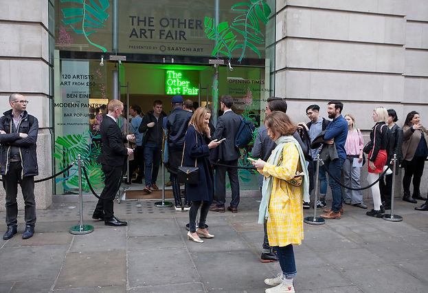 THE OTHER ART FAIR LONDON, 2019