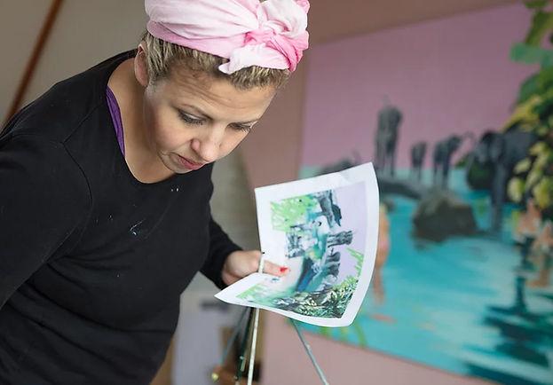 Naked Eye - Meet the Artist Ruth Mulvie