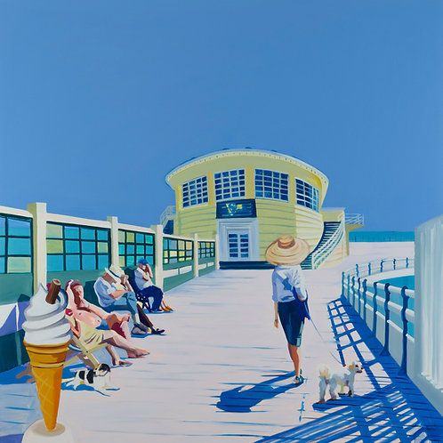 PIER Large (Unframed) Signed Limited Edition Giclee Print