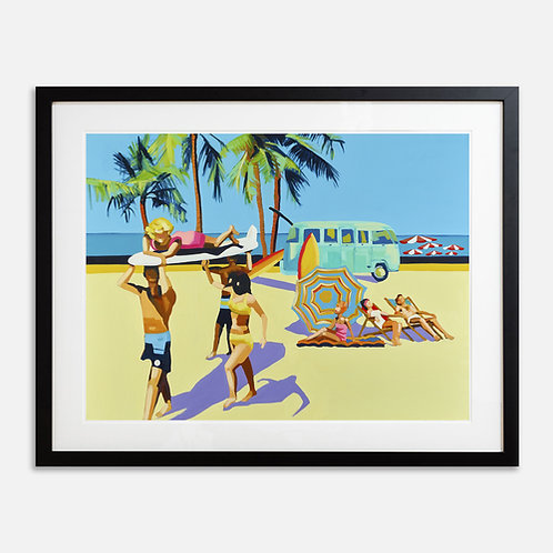 CAMPER Small (Unframed) Signed Limited Edition Giclee Print