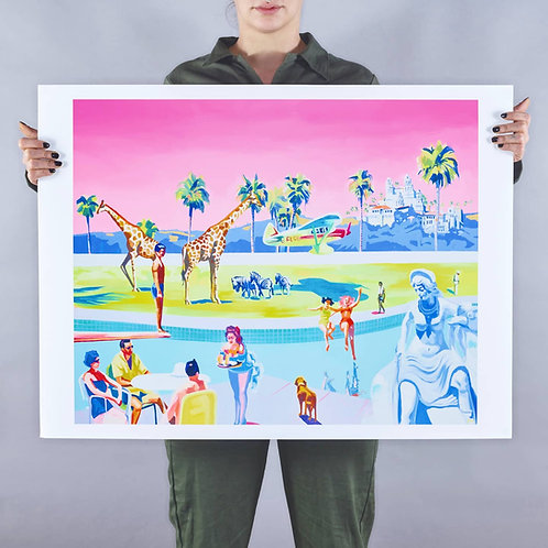 FLIGHT OF FANTASY (unframed) Signed Limited Edition Giclee Print