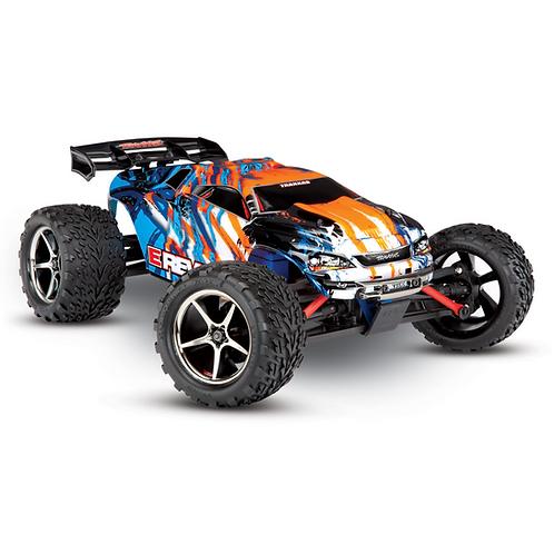 Traxxas 1/16 Revo Orange/Blue Ready to Race