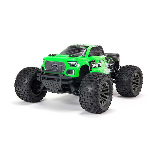 Arrma 1/10 GRANITE 4X4 V3 3S BLX Brushless Monster Truck RTR Green
