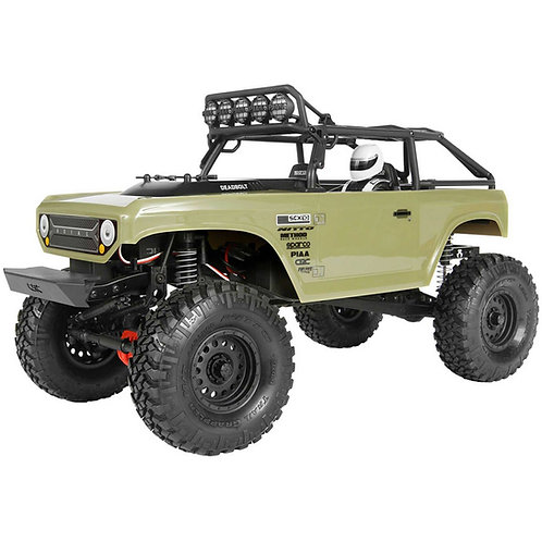 Axial 1/10 SCX10 II Deadbolt 4WD Brushed RTR