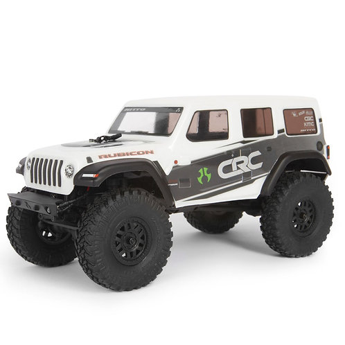 Axial 1/24 SCX24 2019 Jeep Wrangler JLU CRC 4WD Rock Crawler Brushed RTR, White