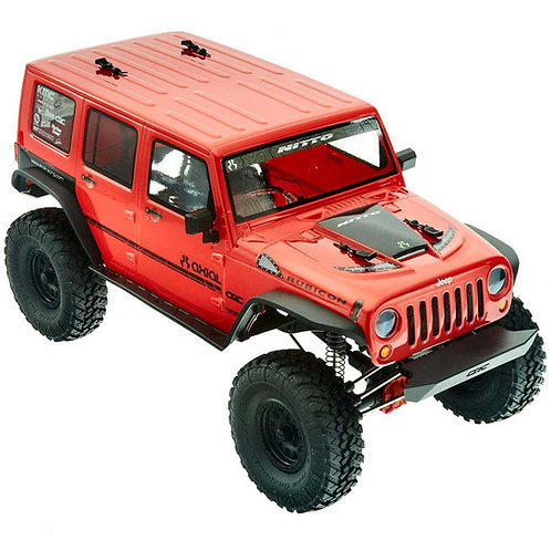 Axial 1/10 SCX10 II 2017 Jeep Wrangler Unlimited CRC 4WD Rock Crawler Brushed RT