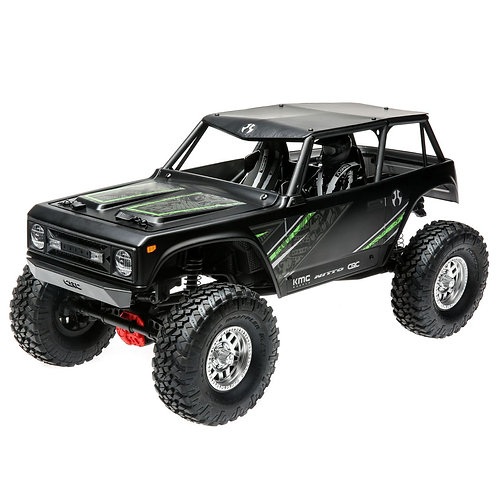 Axial 1/10 Wraith 1.9 4WD Rock Crawler Brushed RTR, Black