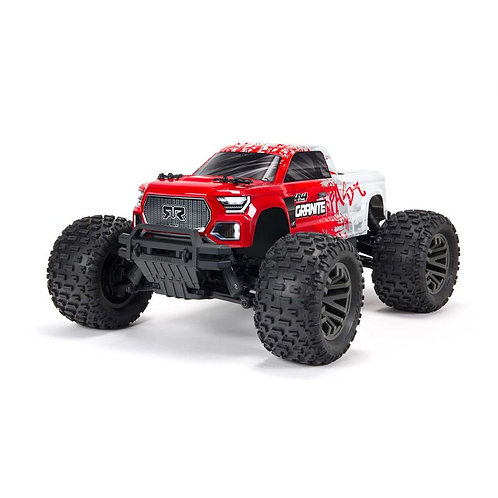 Arrma 1/10 GRANITE 4X4 V3 3S BLX Brushless Monster Truck RTR Red