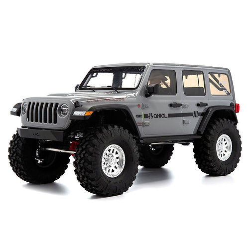 Axial 1/10 SCX10 III Jeep JLU Wrangler with Portals RTR Grey