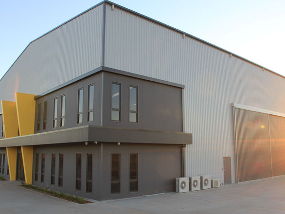 Industrial Building by Prospec Structure